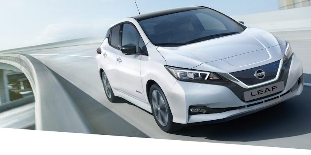 Nissan Leaf em branco