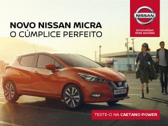 Novo Nissan Micra.