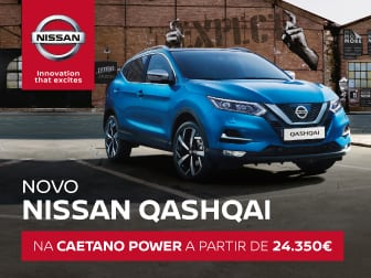 Novo Nissan Qashqai, o crossover inteligente na Caetano Power