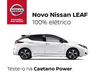 Novo Nissan Leaf 100% Eléctrico.