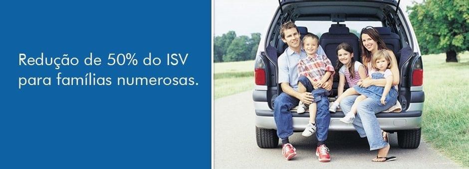 ISV para famílias numerosas