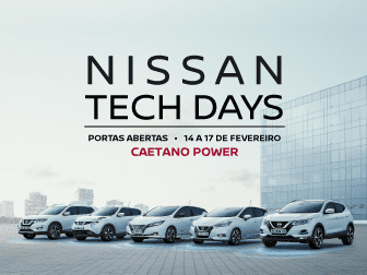 Nissan Tech Days - PORTAS ABERTAS é na Caetano Power!
