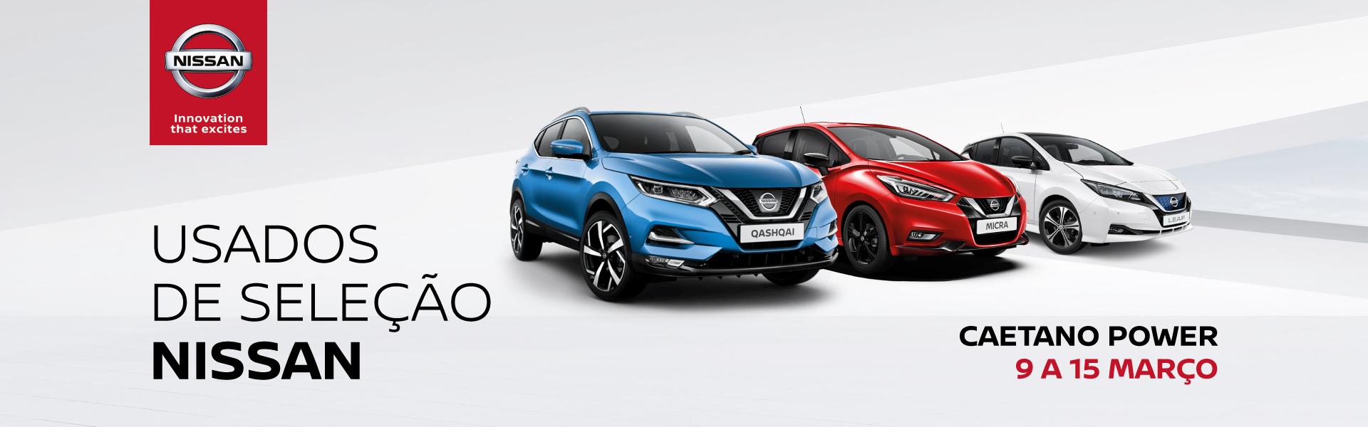 Campanha usados da Nissan