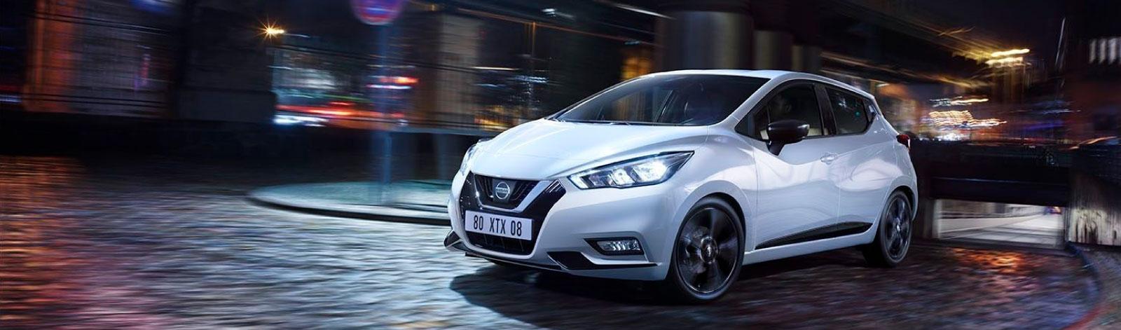 destaque do Nissan Micra