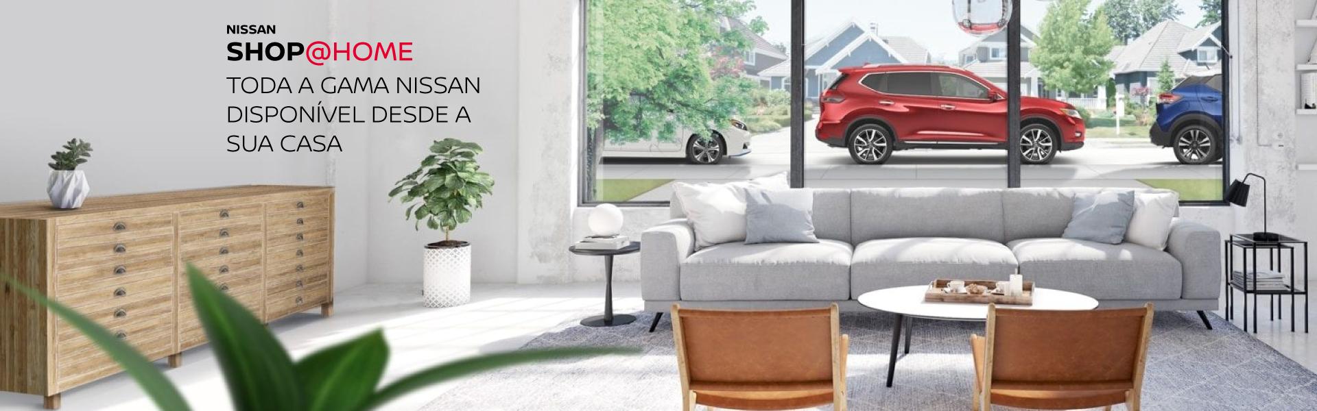 serviço do Nissan Shop@Home