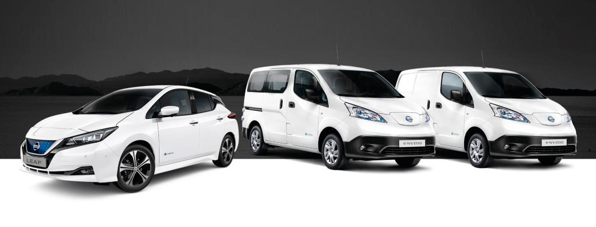 notícia da parceria Galp e Nissan