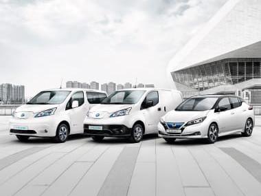 notícia da parceria da Galp e Nissan