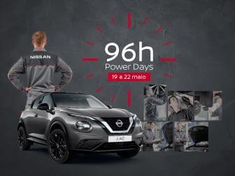 96h Nissan Power Days: 19 a 22 de maio