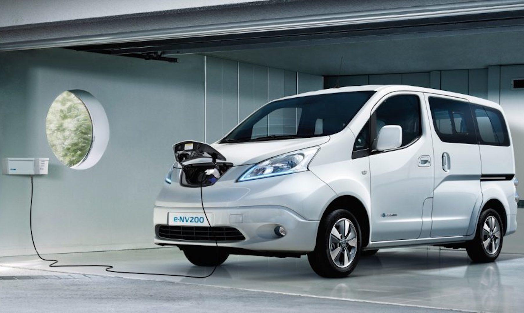 autonomia do Nissan E-NV200 Evalia