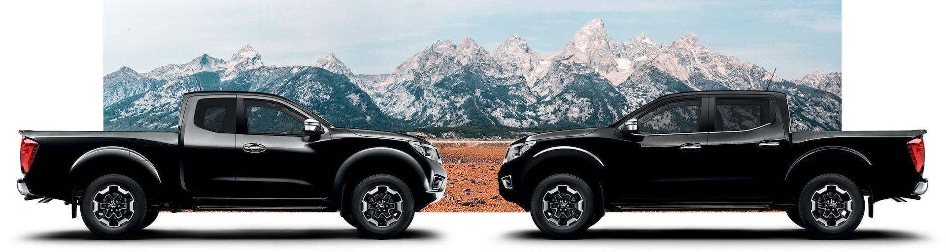 Nissan Navara King Cab e Cabine Dupla