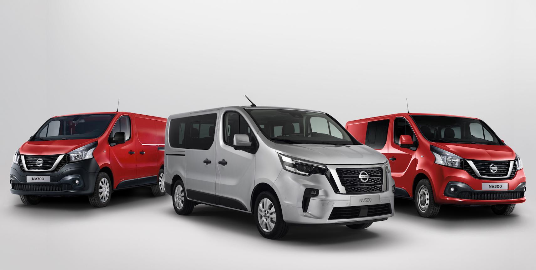 gama do Nissan NV300