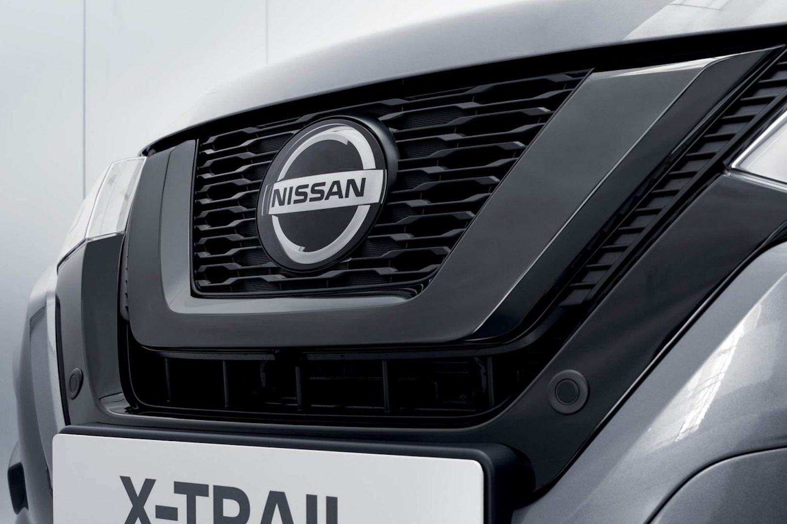 grelha do Nissan X-Trail