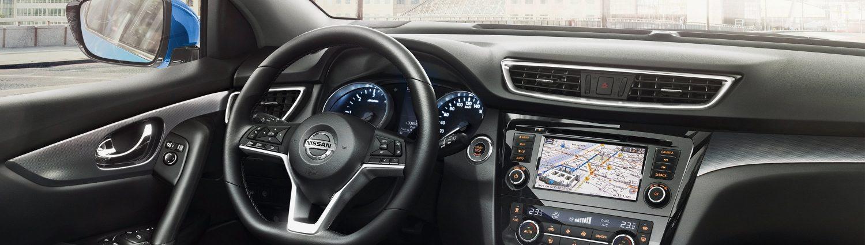interior do Nissan Qashqai