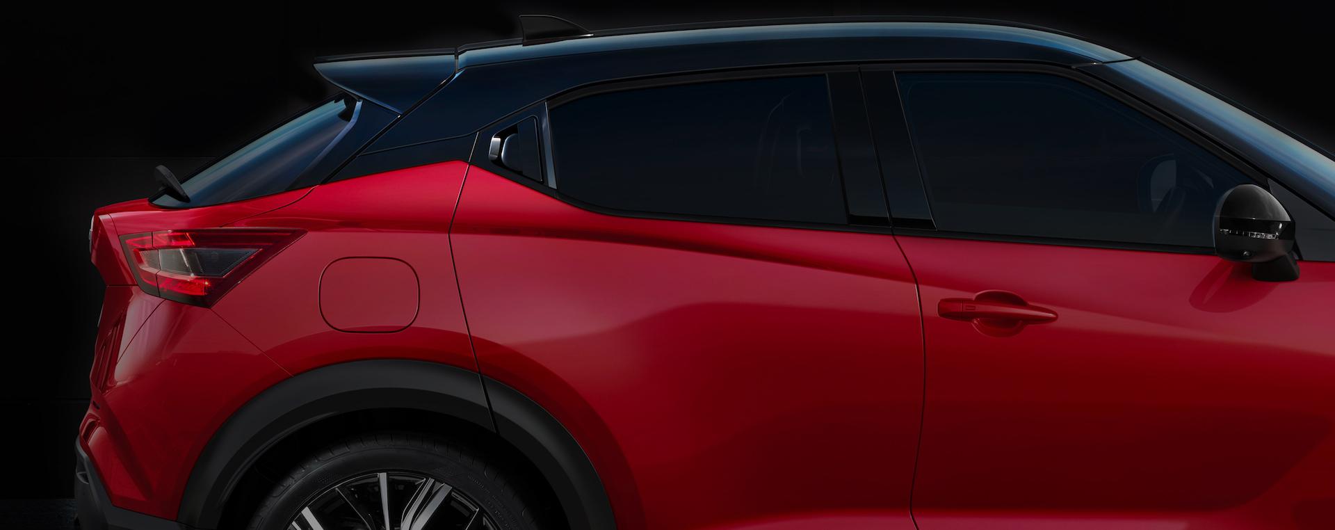 carroçaria do Nissan Juke
