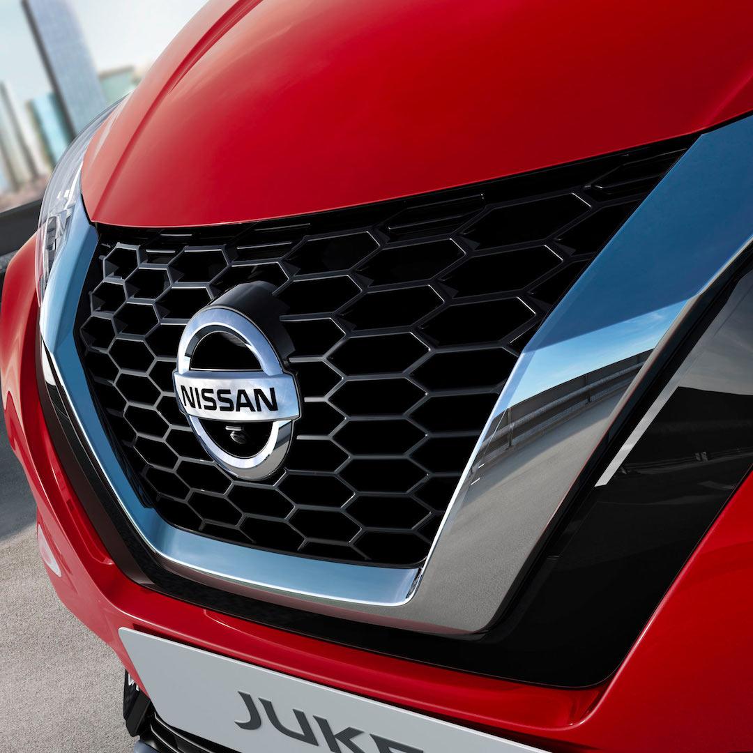 dianteira do Nissan Juke