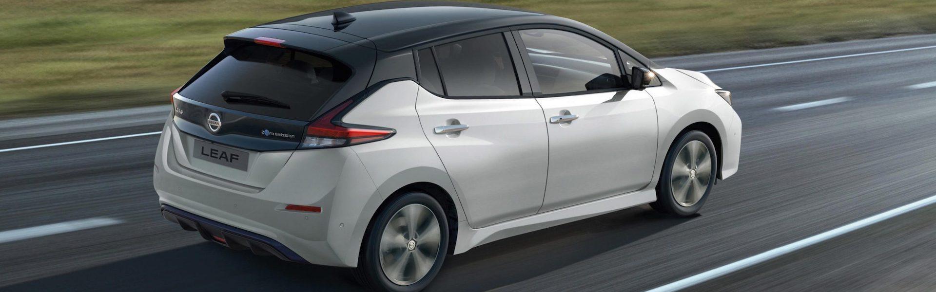 características do Nissan Leaf