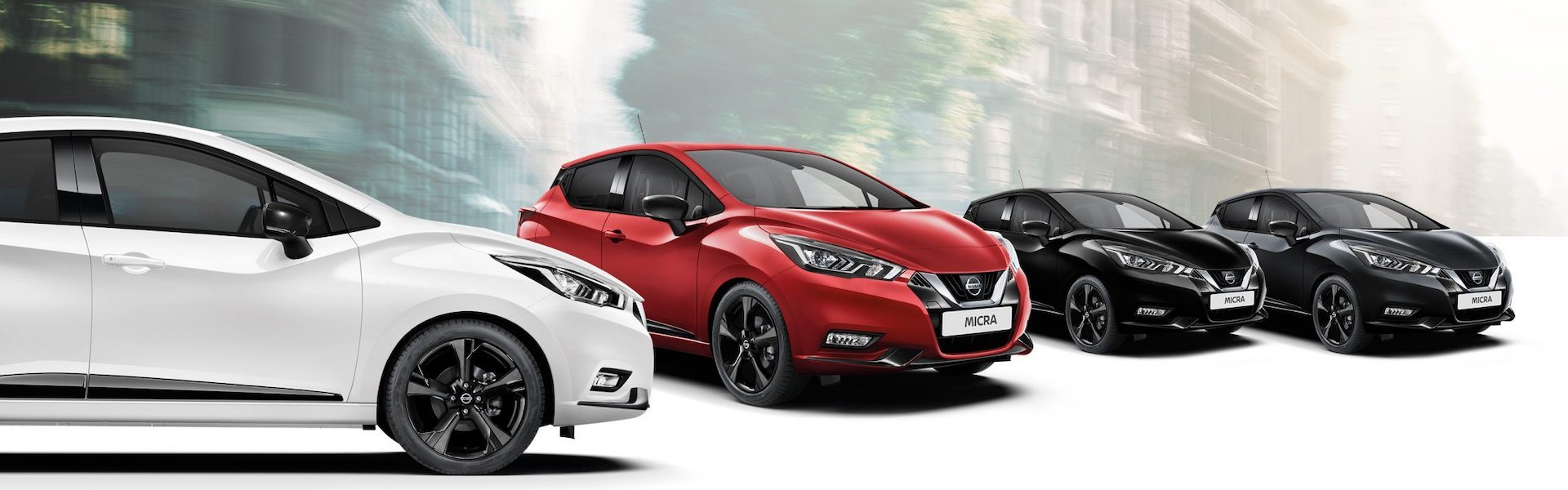 gama do Nissan Micra