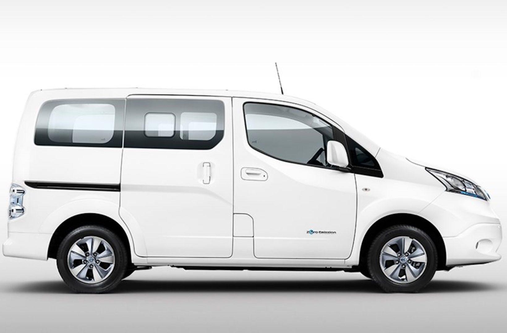 nova carrinha Nissan e-NV200 Evalia
