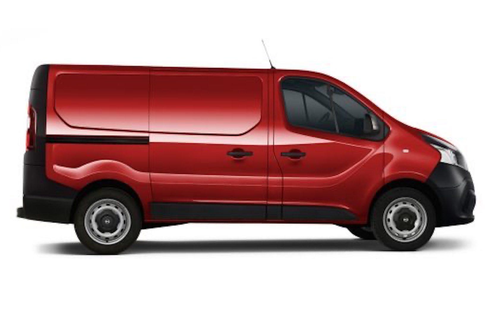 dimensões do Nissan NV300