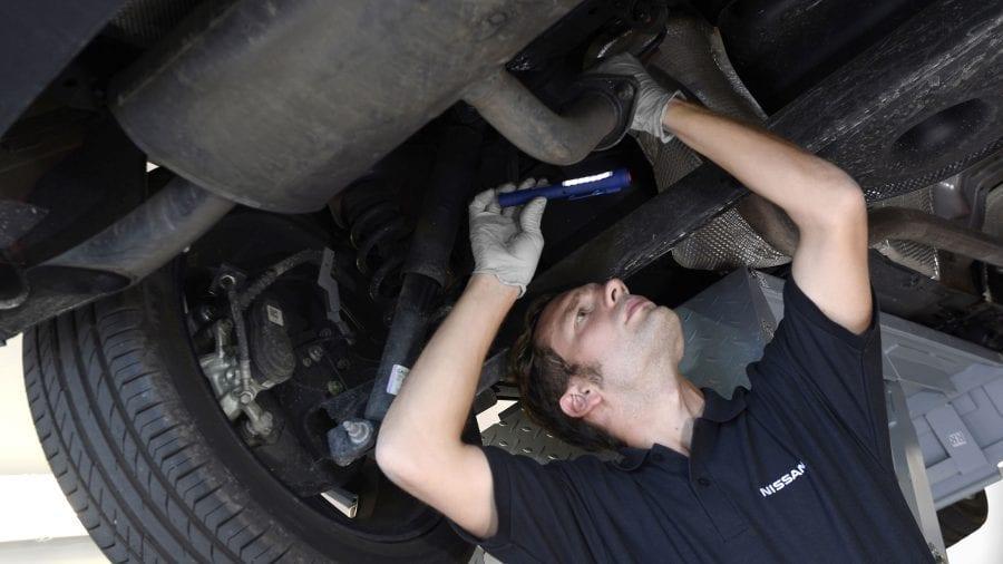 reparação do Nissan