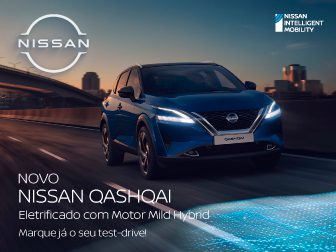 Marque já o seu Test-Drive ao Novo Nissan Qashqai!