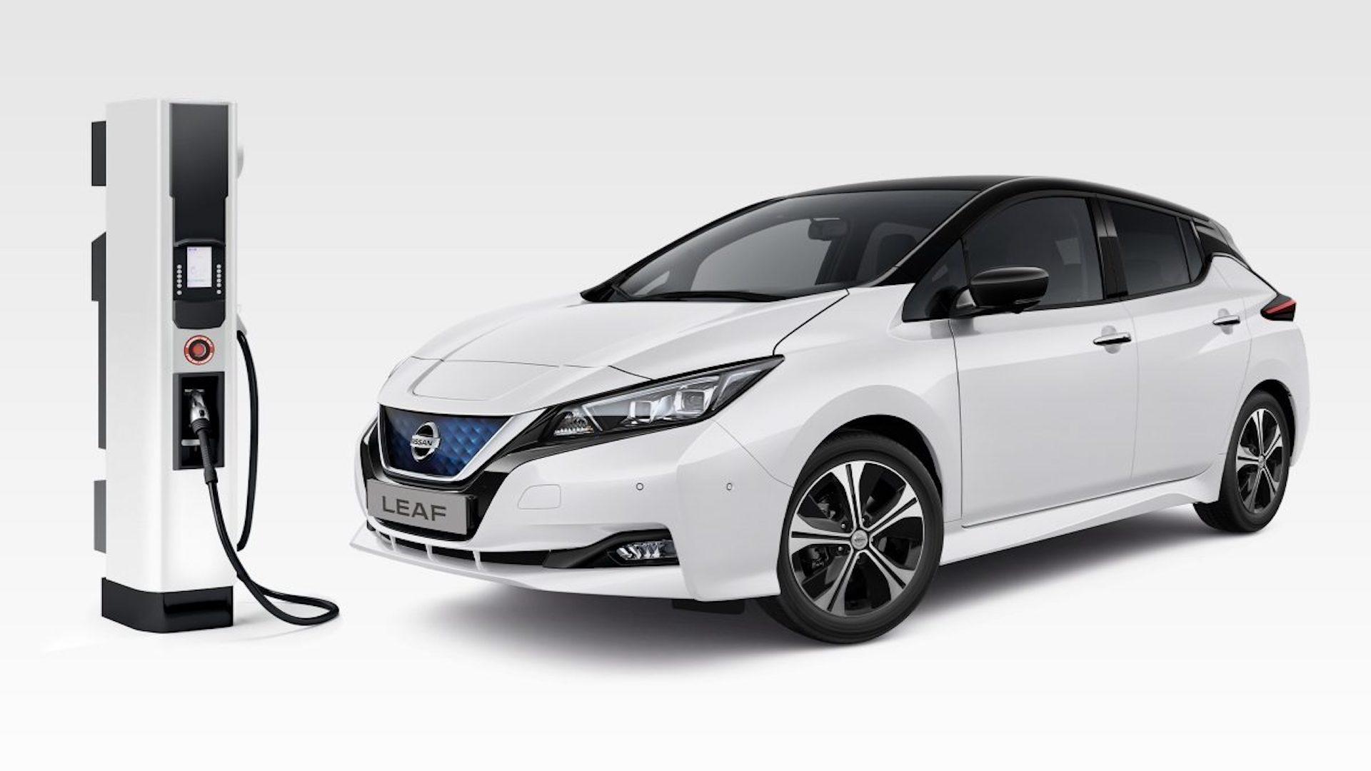 carregamento do Nissan Leaf