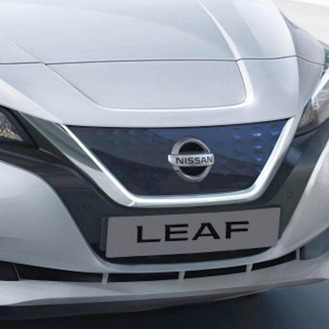 grelha dianteira do Nissan Leaf