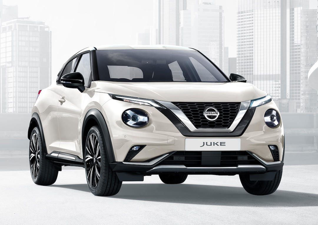 Nissan Juke em creme
