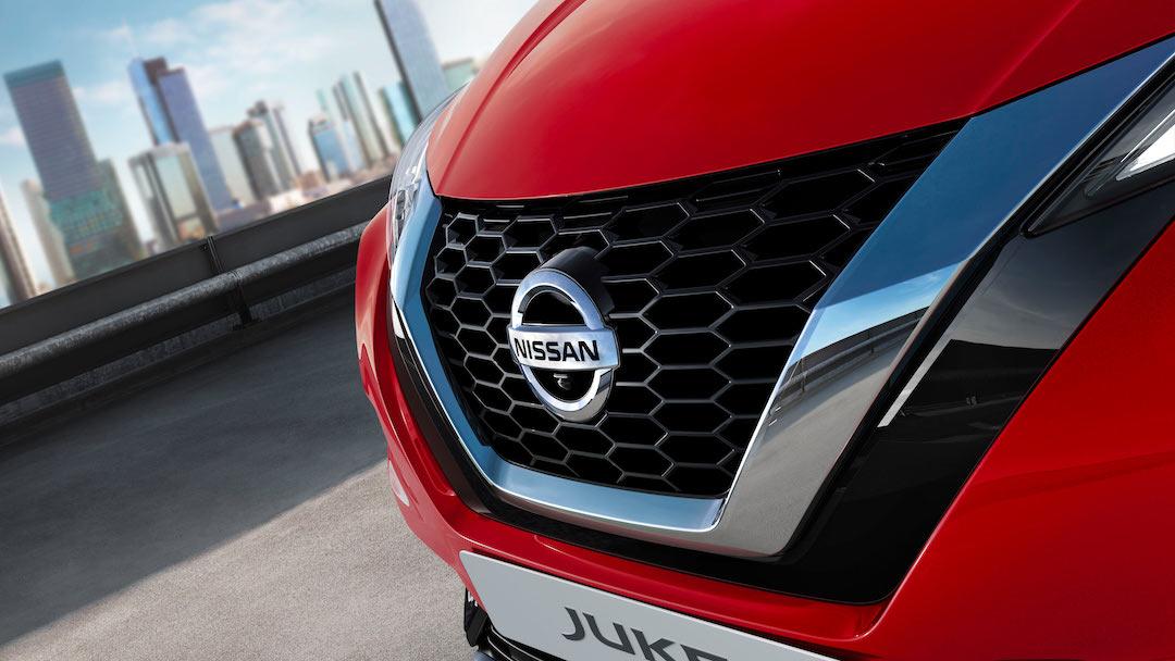 Grelha do Nissan Juke