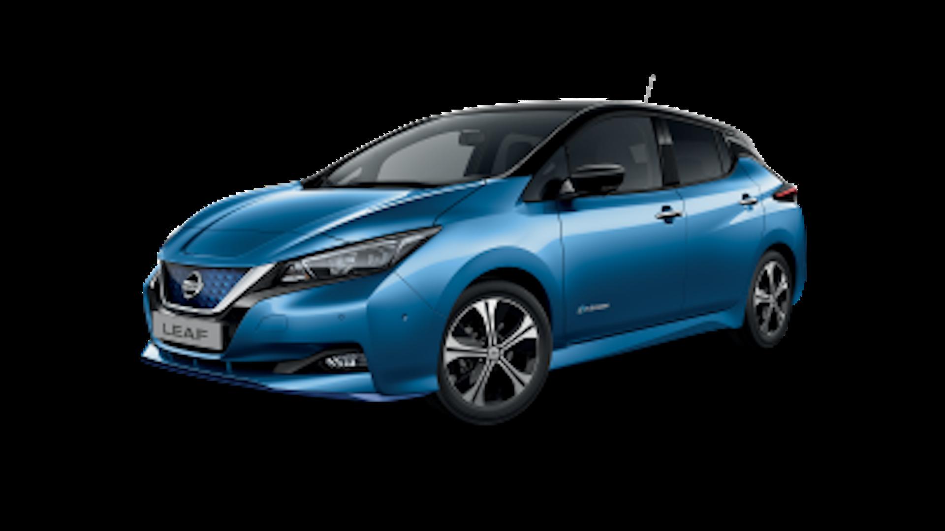 Nissan Leaf em azul
