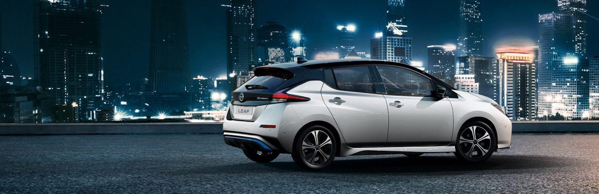 Nissan Leaf no Porto