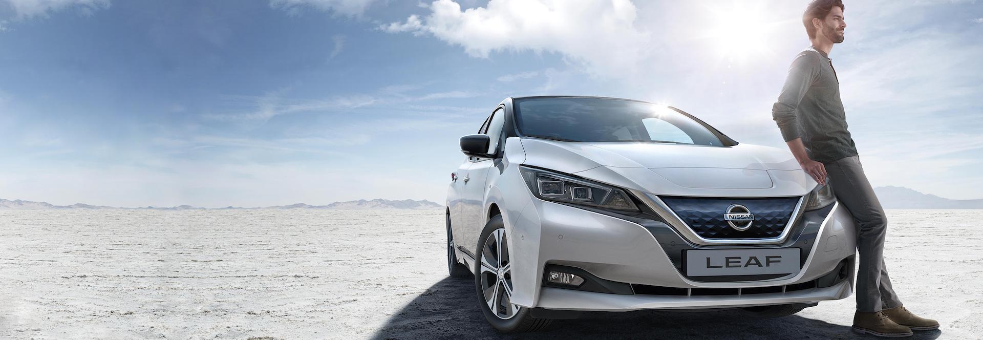Nissan Leaf em elétrico