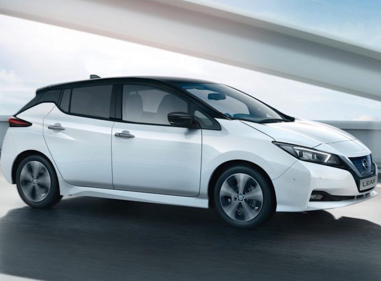 Nissan Leaf usado em Almada